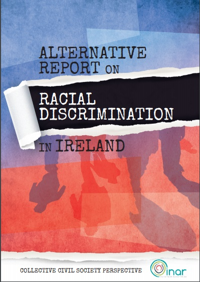 Front cover of the Alternative Report submitted to UN CERD