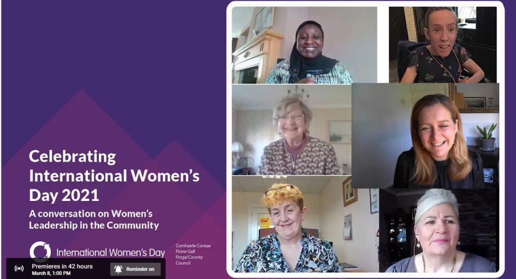 Fingal County Council International Women's Day 2021 #ChooseToChallenge
