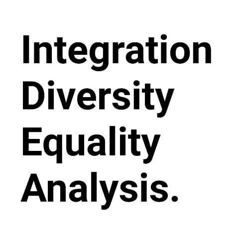 Integration, diversity, equality, analysis.